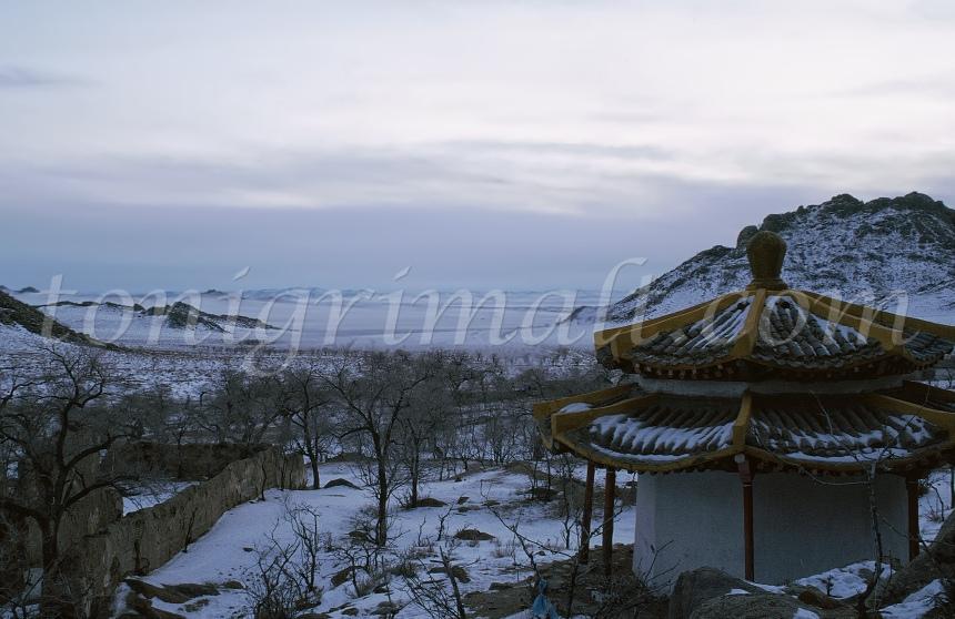 Mongolia helada